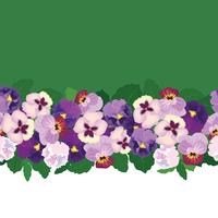Motivo floreale senza soluzione di continuità. Sfondo di fiori Struttura del giardino fiorito