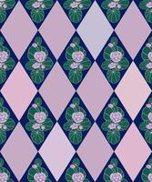 Astratto motivo floreale senza soluzione di continuità. Sfondo ornamentale di fiori