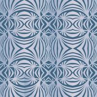 Reticolo geometrico astratto Struttura senza giunte dell'onda. Ornamento floreale vettore