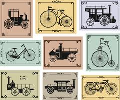 Biciclette e automobili