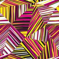 Modello senza cuciture geometrico astratto Sfondo di linea di striscia caotico