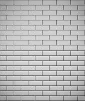 parete del fondo senza cuciture del mattone bianco vettore