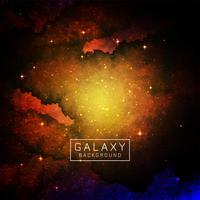 Spazio astratto galassia sullo sfondo