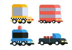 Set di clipart di trasporto