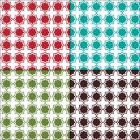 Modelli senza soluzione di piastrelle arabesco marocchino