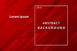copertura geometrica astratta rosso scuro e sfondo per il desktop vettore