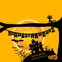 Sfondo di giorno di Halloween