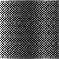 Illustrazione astratta di vettore di struttura del fondo della carta da parati del modello della maglia del cerchio del metallo.