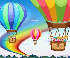 palloncini vettore