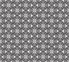 Modello geometrico senza cuciture Ornamento floreale astratto. Trama orientale