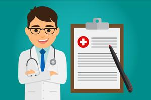 Assistenza sanitaria medico vettore