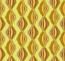 Modello astratto delle mattonelle linea ondulata. Ornamento geometrico in tessuto di lana