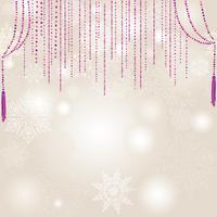 Sfocatura della neve. Fondo nevoso della natura di vacanza invernale di Natale