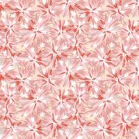 Motivo floreale senza soluzione di continuità. Sfondo di fiori Ornamento natura giardino