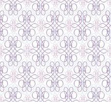 Swirl motivo floreale. Ornamento astratto Broccato sfondo senza soluzione di continuità