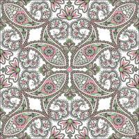 Floral background senza soluzione di continuità. Ornamento orientale Motivo floreale