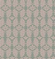 Motivo floreale foglie Sfondo senza soluzione di continuità Ornamento di foglia di ricciolo di natura