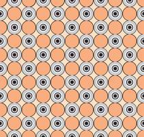 Cerchi di sfondo senza soluzione di continuità. Elegante ornamento geometrico