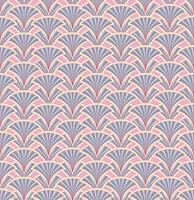 Oriental flower pattern Astratto ornamento floreale Swirl tessuto di fondo vettore