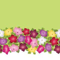 Motivo floreale senza soluzione di continuità. Sfondo decorativo fiore vettore