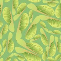 Modello astratto delle mattonelle floreali. Sfondo di foglie di giardino