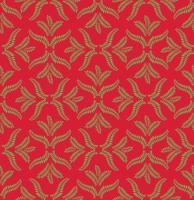 Motivo ornamentale floreale Sfondo geometrico fiorire