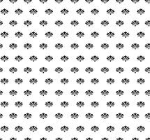 Motivo floreale senza soluzione di continuità. Ornamento floreale astratto. Texture di broccato vettore
