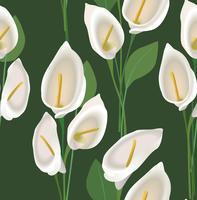 Motivo floreale senza soluzione di continuità. Sfondo fiore astratto.