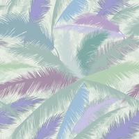 Foglie di palma modello floreale. Natura primavera con texture di sfondo. vettore