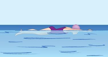 Baby nuota. Lezione di nuoto