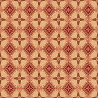 Modello di mosaico senza soluzione di continuità Astratto ornamento floreale Trama del tessuto orientale vettore