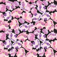 Abstract floral dot Reticolo senza giunte del petalo del fiore Swirl trama floreale