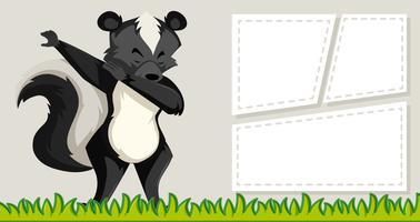 Skunk sul modello di nota