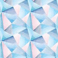 Modello senza cuciture astratto Fondo dell'acquerello di forma geometrica