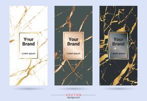Modelli di etichette e adesivi per la progettazione di prodotti di imballaggio. vettore