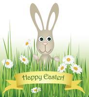 Segno di Pasqua. Sfondo cartolina d'auguri di Pasqua. Simbolo di fede religiosa.