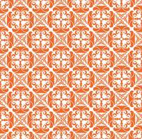 Motivo floreale astratto Elegante ornamento geometrico senza soluzione di continuità