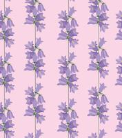Motivo floreale senza soluzione di continuità. Sfondo di fiori