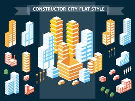 costruttore di città vettore