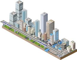 Centro vettoriale della città