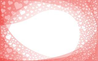 il cuore dello sfondo d'amore vettore