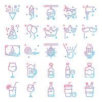 Pacchetto di icone di partito