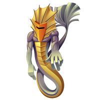 Il drago è animale nelle fiabe.