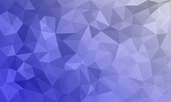 astratto sfondo viola, forme triangolari basso poli a motivo casuale, sfondo lowpoly alla moda vettore