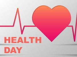 Giornata mondiale della salute vettore