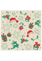 Carta da parati di Natale vettore