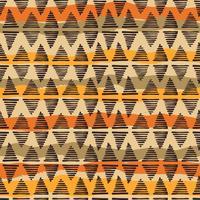 Modello senza cuciture etnico tribale con elementi geometrici vettore
