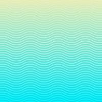 L'onda bianca allinea il modello su fondo e su struttura blu. vettore