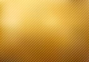 Struttura astratta del modello dei quadrati sul fondo dell'oro vettore