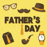 Festa del papà Disegno vettoriale